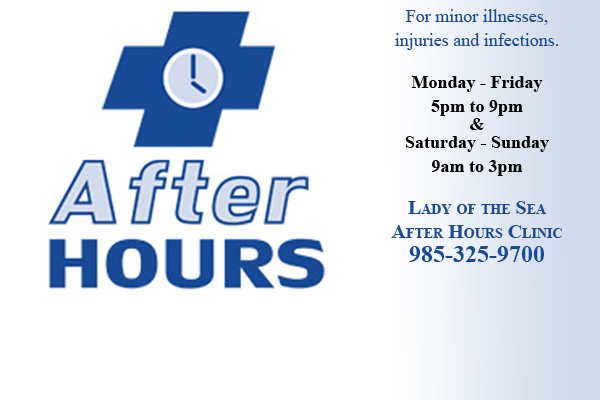 Extended Hours for Convenient Care